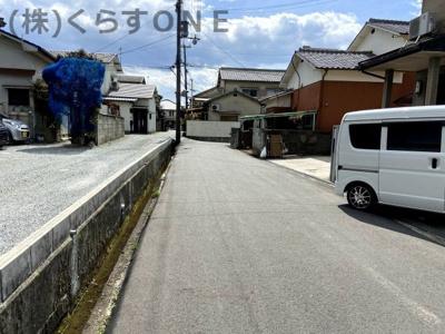 【前面道路含む現地写真】姫路市保城/中古戸建