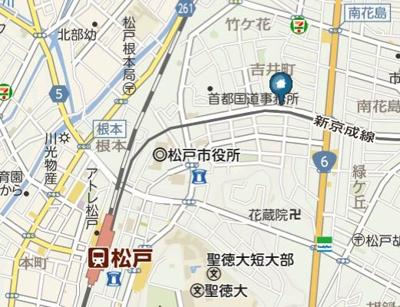 【地図】プランドールJ(プランドールジェイ)