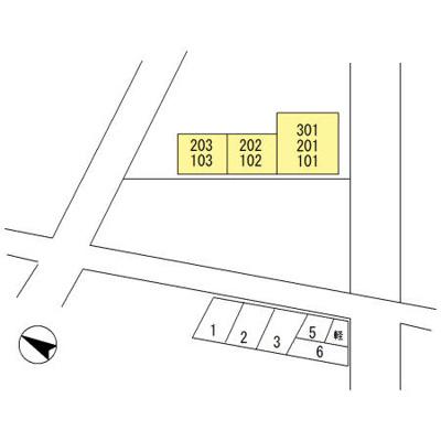 【区画図】ハイツミレム