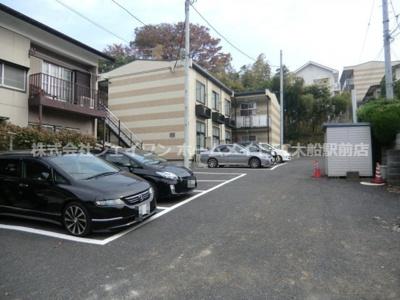【駐車場】レオパレスリリー