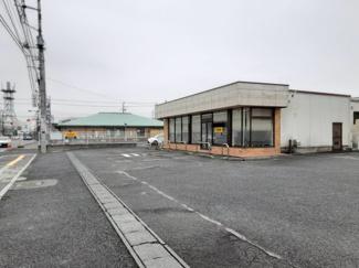 【外観】常総市水海道橋本町 店舗付き 売地