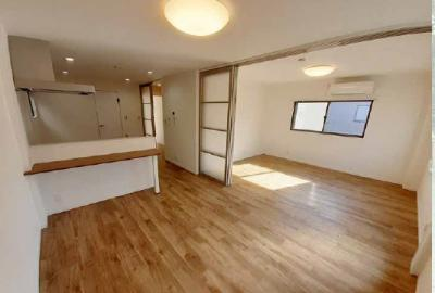 【居間・リビング】阿佐谷北4丁目賃貸併用住宅