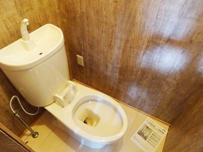 トイレです、リフォーム途中です。