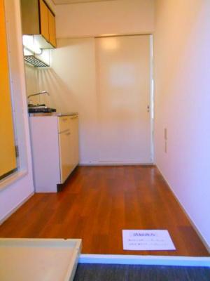 室内の洗濯機置場