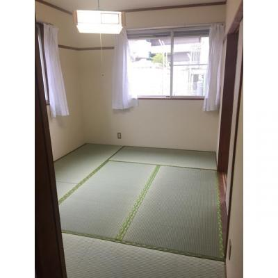グリーンハイツ 2番館の和室