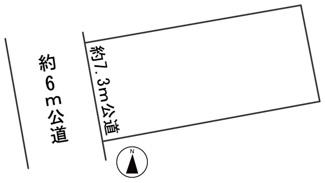 【区画図】56418 岐阜市豊岡町土地