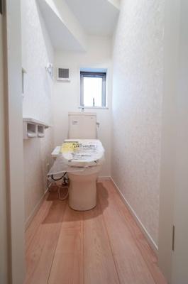 【トイレ】地震に強い新築戸建て 戸田市笹目第23