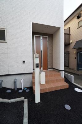 【玄関】地震に強い新築戸建て 戸田市笹目第23
