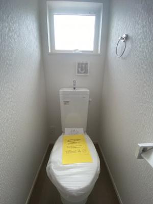 各階にトイレ完備