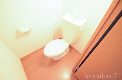 【トイレ】レオパレスコア