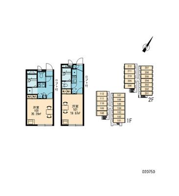 【区画図】レオパレスコア