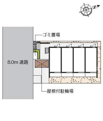 【地図】クレイノ梅香