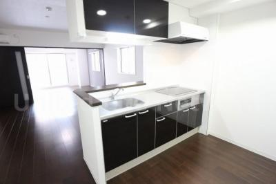 機能的なキッチン