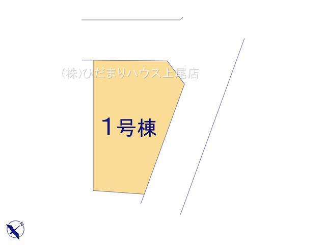 【区画図】見沼区御蔵 6期 新築一戸建て グラファーレ 01