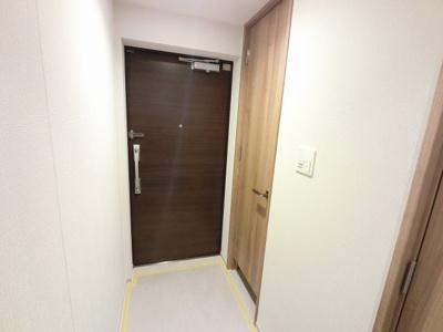 玄関部分です。 たっぷり収納できるシューズインクローゼット付です。