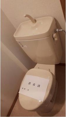 ベガ・コーポ上落合のトイレもきれいです☆