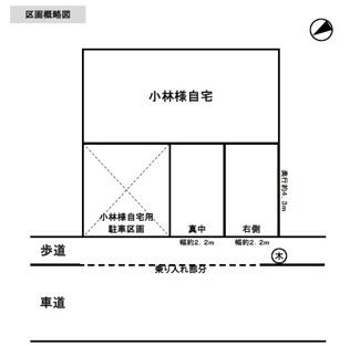 【区画図】小林駐車場