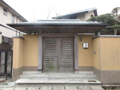 【玄関】神戸市北区鳴子2丁目中古戸建