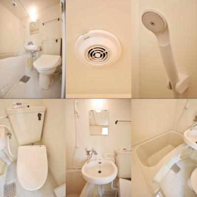 バスルーム分割写真