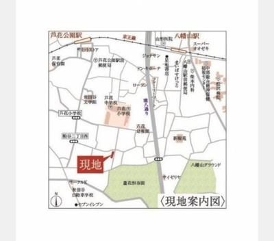 【地図】グリーンワードロカ