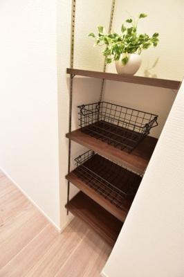 無駄なスペースは一切ございません。使えるスペースは有効活用しております。収納力の高さも魅力の1つです