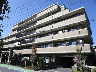 鉄筋コンクリート造の6階建てマンションです。