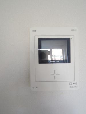 TVモニターホン完備でセキュリティ面も安心