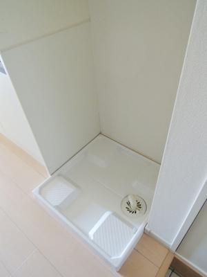 もちろん室内洗濯機置場完備
