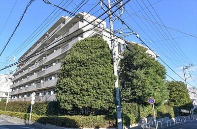 7階建て、総戸数87戸「パーク・ハイム浦和」です。