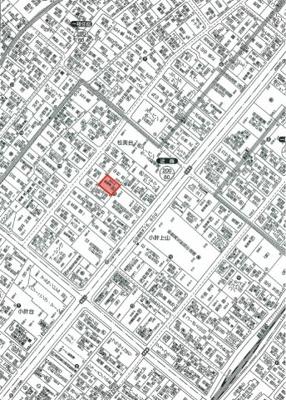 【地図】松美台駐車場
