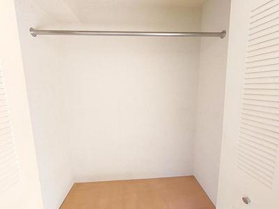 収納付きの洋室です。