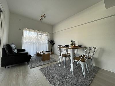 LDKは家具配置もしやすい縦長空間です。