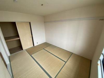 【寝室】グリーンルミナスD