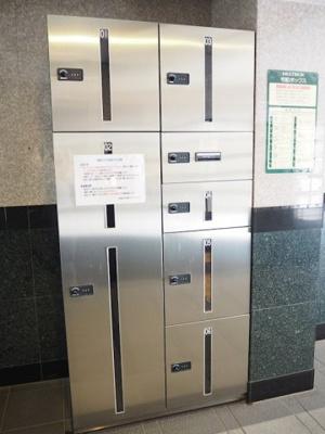 24時間荷物が受け取れる宅配BOX☆