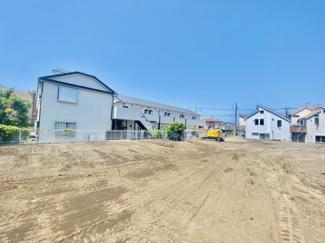 【前面道路含む現地写真】【発売開始】菱沼海岸 開発分譲地全14区画
