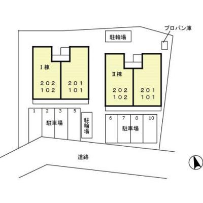 【区画図】プレステージグランデ Ⅱ