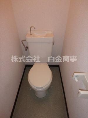 【トイレ】ほんだハイツクレストエム