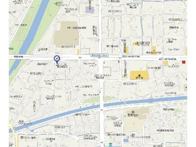 【地図】ジョイフル第2朝生田・
