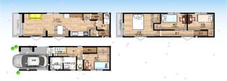 【※確定プラン図】 MODEL HOUSE建築中! 2021年8月完成予定 coming soon...♪♪