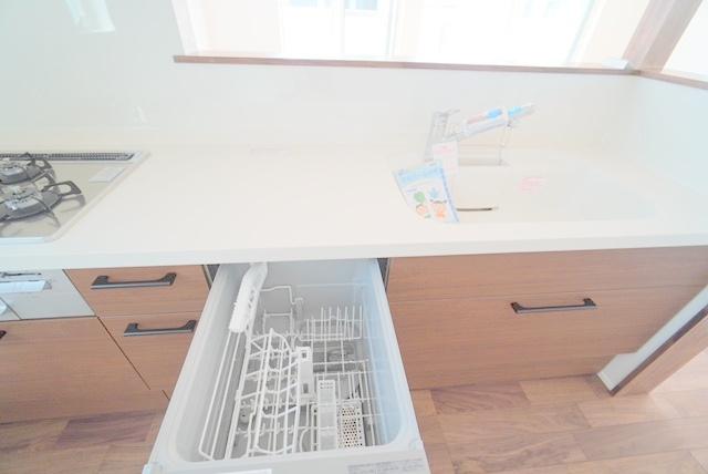 食洗機付きです。