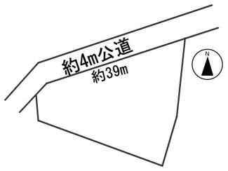 【区画図】56432 岐阜市長良雄総土地