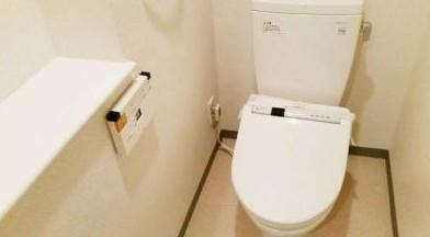 【トイレ】パークキューブ茅場町
