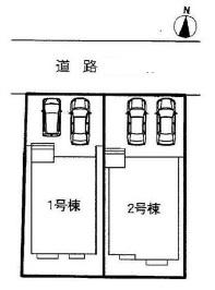 【区画図】港区佐野町 1号棟<仲介手数料無料>