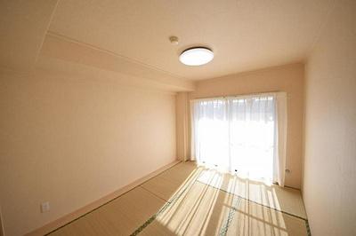 畳表替え、襖貼替済みで室内快適にお過ごしいただけます。