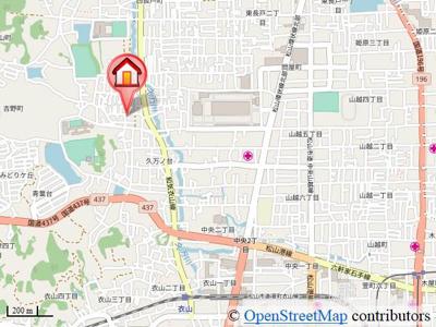 【地図】エトワール