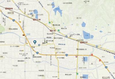 【地図】メゾンウィステリア・