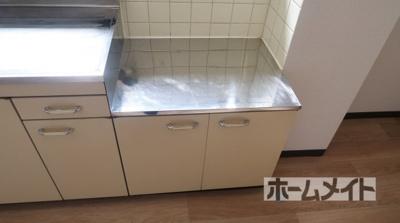 【キッチン】石田ハイツ
