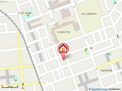 【地図】ハウス22