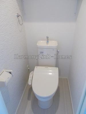 ブライト東長崎の清潔感のあるトイレです☆