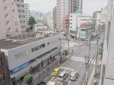 ルーブル新宿原町の展望です